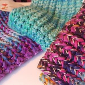 🚨🚨🚨Set of 3 Knit Infinity Scarves Scarf